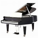 "Baldwin BP165HPE 5' 5"" Polished Ebony Grand Piano"