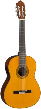 Yamaha CGX102 Spruce top, nato back and sides, rosewood fingerboard, System68N contact pickup; Natu