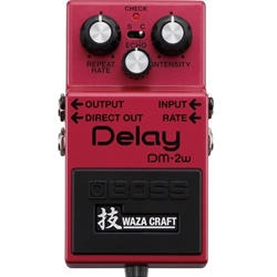 Boss DM-2W Analog Delay Waza Craft Special Edition Pedal