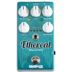 763815129440 WAMPLER ETHEREAL DELAY AND REVERB PEDAL